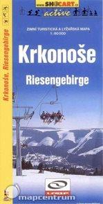 Krkonoše - zimní turistická a lyžařská mapa - 1:60 000