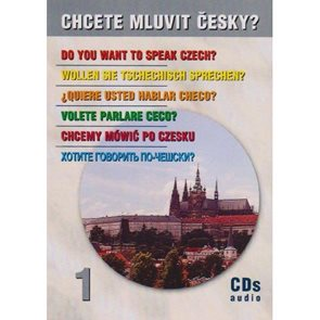 Chcete mluvit česky - audio CD (4ks)