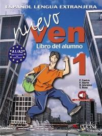 Nuevo Ven 1 - učebnice + CD - Castro,Marín,Morales,Rosa - A4, brožovaná