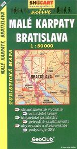 Malé Karpaty,Bratislava - mapa SHc1078 - 1:50 000
