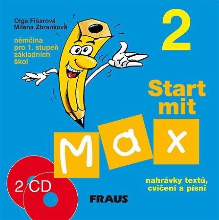 Start mit Max 2-audio CD k učebnici /2ks/ - Fišarová O.,Zbranková M.