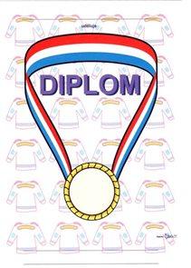 Diplom A5 - Medaile