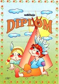 Diplom A5 - Tee-pee