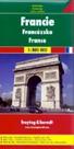 Francie - mapa Freytag - 1:800 000