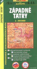 Západné Tatry - mapa SHc - 1:50 000
