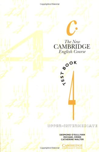 New Cambridge Course 4 Practice Book with key - O´Sullivan,Swan,Walter