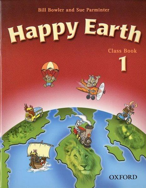 Happy Earth 1 Class Book - Bowler,Parminter, Sleva 15%