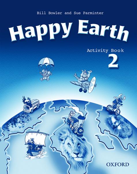 Happy Earth 2 Activity Book - Bowler,Parminter, Sleva 99%