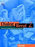 Dialog Beruf 2 Kursbuch