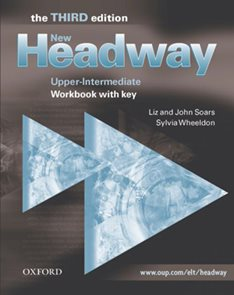 New Headway upper-intermediate Third Edition Workbook with key
