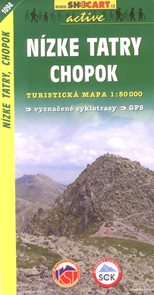 Nízké Tatry,Chopok - mapa SHc1094 - 1:50 000