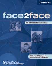 Face2face Pre-intermediate Teachers Book