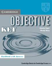 Objective KET WB with Answers