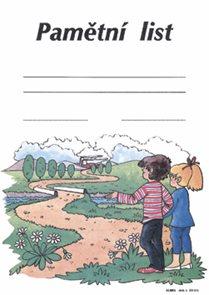 Pamětní list (na ukončení školní docházky)