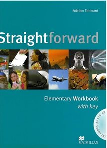Straightforward elementary Workbook +audio  CD