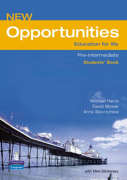 New Opportunities Pre-intermediate Students Book - Harris,Mower,Sikorzynka