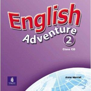 English Adventure 2 Class CD - Worrall Anne