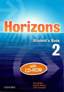 Horizons 2 Students Book with CD-ROM