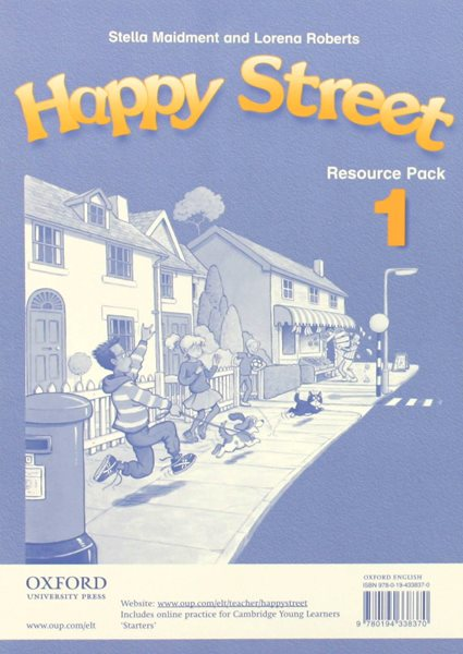Happy Street 1 Resource Pack - Maidment S.,Roberts L. - A4, volné listy ve složce, Sleva 99%