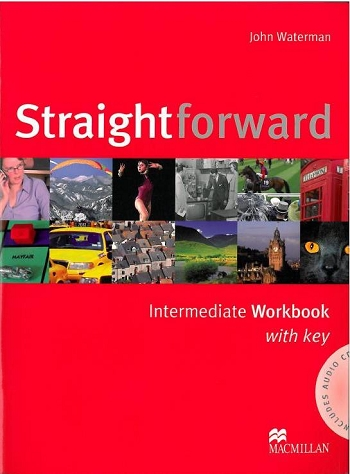 Straightforward intermediate Workbook with key + CD - Waterman John - A4, brožovaná, Sleva 20%