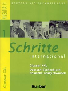 Schritte international 1 Glossar XXL - Deutsch-Tsechisch /d-č/
