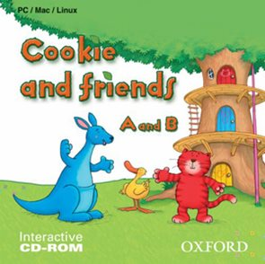 Cookie and Friends A and B - interactive CD-ROM