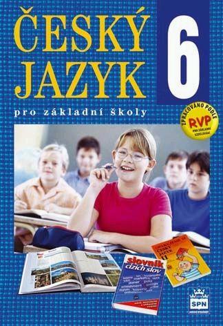 Český jazyk pro 6. ročník základní školy - učebnice - Hošnová Eva - B5