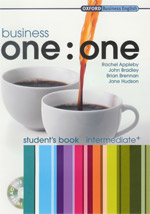 Business one : one intermediate Students Book + CD