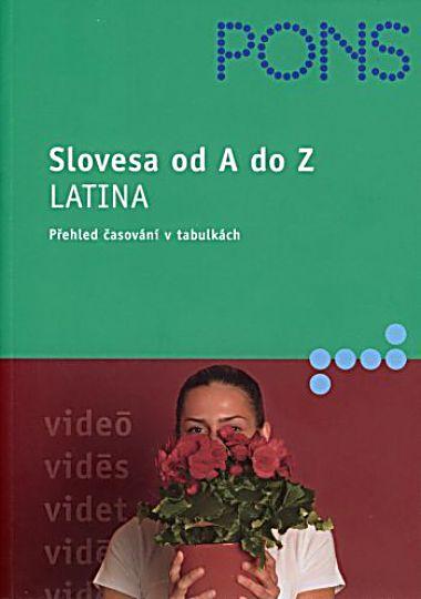 Slovesa od A do Z-Latina (přehled časování v tabulkách) - Hahn Rainer