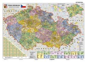 Česká republika administrativní - mapa A2