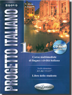 Nuovo Progetto Italiano 1 Libro dello studente + DVD - Marin T.,Magnelli S. - A4