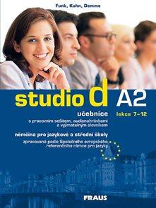 Studio d A2 němčina pro JŠ a SŠ - učebnice + CD /lekce 7-12/