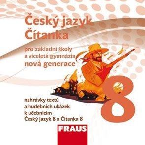 Český jazyk/Čítanka pro 8.r.ZŠ a víceletá gymnázia - audio CD