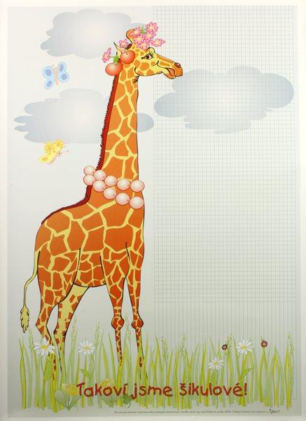 Žirafa /70×100/ - 70×100