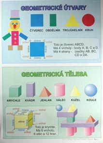 Geometrické tvary a geometrická tělesa /70×100/