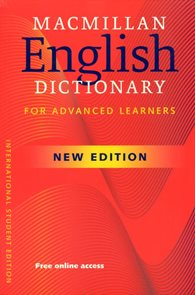 Macmillan English Dictionary for Advanced Learners NEW Edition