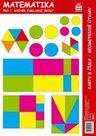 Matematika pro 1. r. ZŠ - Karty s čísly, geometrické útvary
