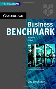 Business Benchmark 2nd edition Advanced / Higher Personal Study Book