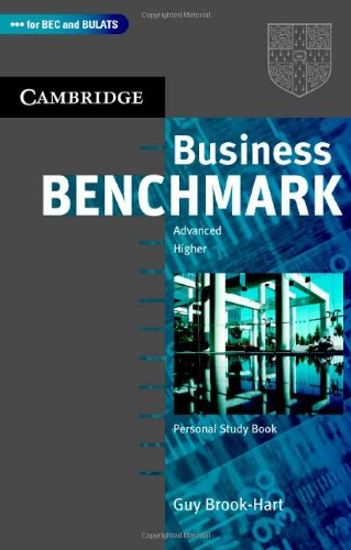 Business Benchmark Advanced / Higher Personal Study Book - Brook-Hart Guy - A5, brožovaná, Sleva 50%