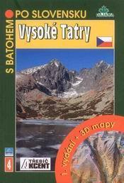 Vysoké Tatry - turistický průvodce Dajama-Akcent č.4 /Slovensko/