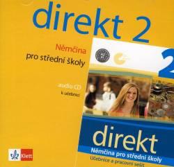Direkt 2-Němčina pro SŠ audio CD