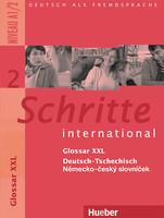 Schritte international 2 Glosar XXL německo-český slovníček - A4, sešitová vazba