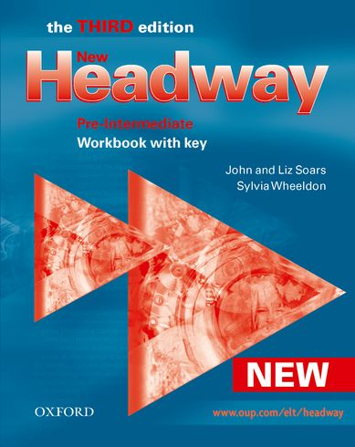 New Headway pre-intermediate Third Edition Workbook with key - Soars Liz and John - A4