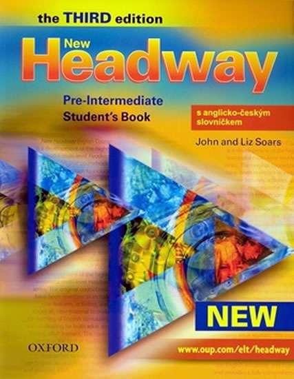 New Headway pre-intermediate Third Edition Students Book s anglicko-českým slovníčkem - Soars John and Liz - A4, brožovaná