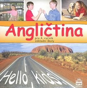 Angličtina 4.r. Hello, kids! - audio CD