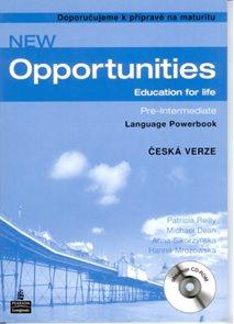 New Opportunities Pre-intermediate Language Powerbook - česká verze