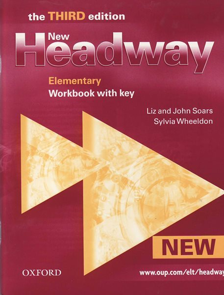 New Headway elementary Third Edition WB with key NEW ED. - Soars L., Soars J., Wheeldon S. - A4, sešitová