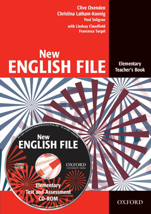 New English File elementary Teachers Book + CD-ROM - Oxenden Clive, Latham-Koenig Christina - A4, brožovaná