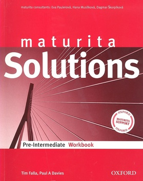 Maturita Solutions Pre-intermediate Workbook (pracovní sešit) - Paulerová E.,Musílková H.,Škorpíková D. - A4, brožovaná