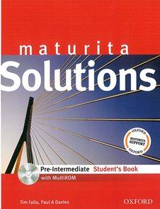 Maturita Solutions Pre-intermediate Students Book + CD-ROM